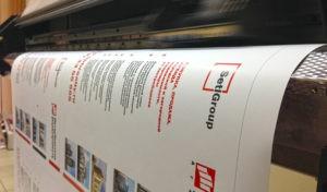 широкоформатная печать недорого
